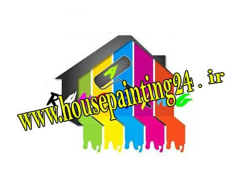 نقاشی ساختمان با رنگ جدید