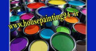 نقاشی ساختمان رنگ روغن
