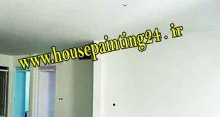 نقاشی ساختمان روغنی