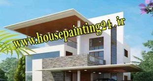 زیرکاری نقاشی ساختمان