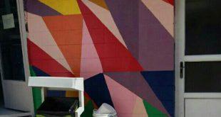 نقاشی ساختمان برادران آذربایجانی تهران